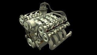getlinkyoutube.com-S4, S6, V6, V8 & V12 Engine Animation