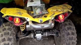 getlinkyoutube.com-2013 Canam renegade 500 HMF Swamp XL