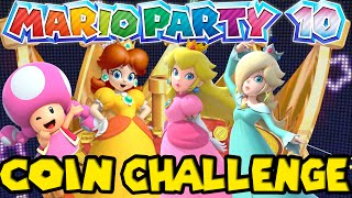 ABM: Mario Party 10 Coin Challenge !! HD