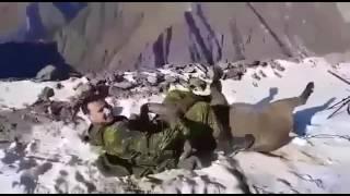 getlinkyoutube.com-Чеченцы поймали горного барана