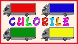 getlinkyoutube.com-Culorile - Animatii pentru Copii - Rosu, Verde, Alb, Albastru, Galben #2