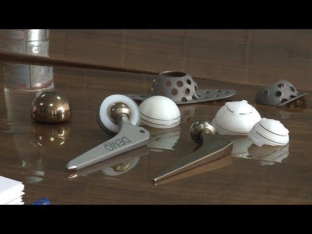 В Ставрополе начали производство титановых имплантов для российской медицины