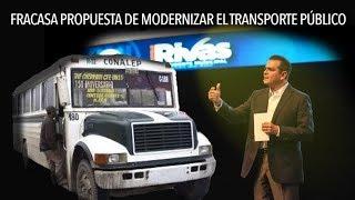 Fracasa Enrique Rivas con modernizar transporte público
