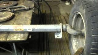 getlinkyoutube.com-Изготовление осевого конца на балку двухосного легкового прицепа (Реставрация  торсионной оси)