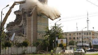 getlinkyoutube.com-Construction, Demolition Accidents & Explosion