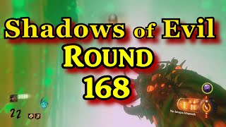 getlinkyoutube.com-Shadows of Evil World Record Round 168 black ops 3 zombies PS4