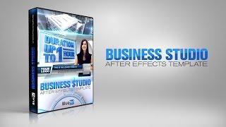 getlinkyoutube.com-Virtual Studio Set  Business Studio | BlueFX After Effects Template