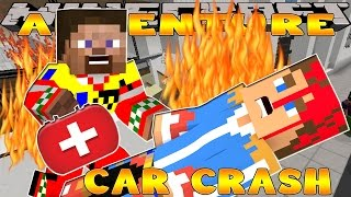 getlinkyoutube.com-Minecraft - Little Donny Adventures - CAR CRASH......IS DONNY DEAD?????