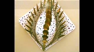 getlinkyoutube.com-DIY Light Decorations with Plastic Spoons