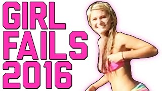 getlinkyoutube.com-Girl Fails: Best of the Year 2016 || FailArmy