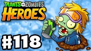 getlinkyoutube.com-Energy Drink Zombie! - Plants vs. Zombies: Heroes - Gameplay Walkthrough Part 118 (iOS, Android)