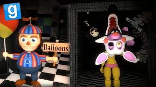 getlinkyoutube.com-Five Nights At Freddy's 2 | MARIONETTE & BALLOON BOY | GMod Horror Map