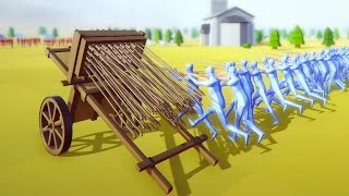 getlinkyoutube.com-GUNS AND ARROWS | Totally Accurate Battle Simulator #5