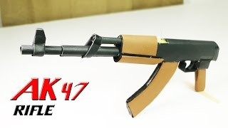 getlinkyoutube.com-How To Make A Fully Automatic Paper Ak 47 That Shoots