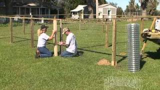 Dog Kennel Fence Installation Part 2 of 2