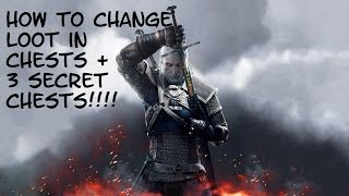 getlinkyoutube.com-How To Change Loot In Chests + 3 Secret Chests In Velen!!!! (The Witcher 3)