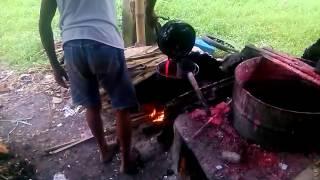 getlinkyoutube.com-Proses pembuatan lilin untuk Imlek