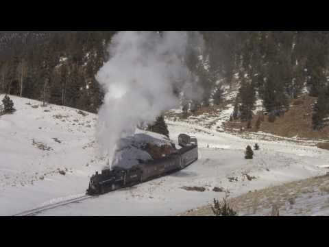 Rio Grande Scenic Railroad - January Steam Special