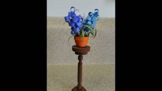 getlinkyoutube.com-Quilled Miniature Plants:  Plant Stand