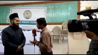 Sayyad fazlullah chishti sabri sahab interview on banglore about triple talaq