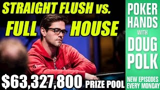 Folding a FULL HOUSE in the 2016 WSOP Main Event?!