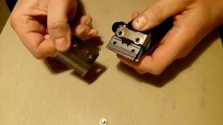 getlinkyoutube.com-Как заточить ножи  машинки для стрижки. How to sharpen knives, clippers?