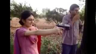Pakistani Funny Girl Shooting Gun
