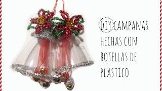 getlinkyoutube.com-DIY CAMPANA HECHA CON BOTELLA DE PLASTICO Y LIMPIA PIPAS