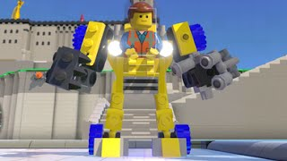 getlinkyoutube.com-LEGO Dimensions - Emmet's Excavator/Mech Fully Upgraded - All 3 Versions (Vehicle Showcase)
