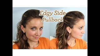Edgy Side Pullback | Popular Hairstyles