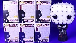 Funko Pop Horror Mystery Box Hot Topic Exclusive Figures - 6 Pop Vinyl Figure Unboxing Video