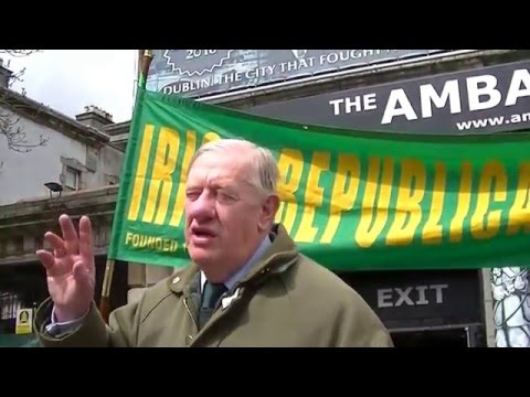 IRB outside Ambassador Theatre Dublin on the 24th of April, 2016