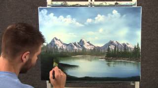 getlinkyoutube.com-Paint with Kevin Hill - Small House on the Lake wet on wet HD