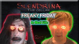 Slendrina Game in Real Life Freaky Friday Jagger and Slendrina Switch Souls SKIT | DavidsTV