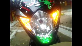 getlinkyoutube.com-Alih Fungsi Handle Rem Motor Sebagai Pengendali Lampu Darurat