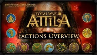 getlinkyoutube.com-Total War: Attila - Gameplay ~ Playable Factions Overview, Viking Forefather's DLC & Latest Info!