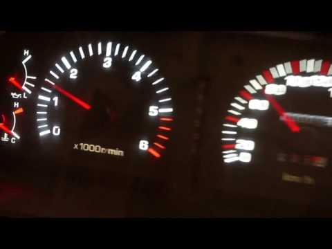 Toyota Land Cruiser 80 пересвет приборки