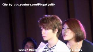 getlinkyoutube.com-120127 Maxim Colors 1 Day : Donghae's Diary - Donghae with Lucky ELF Path 2/2 (+ Ending)
