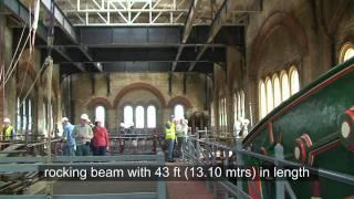 getlinkyoutube.com-The Biggest Operating Rotative Beam Steam Engine At Crossness