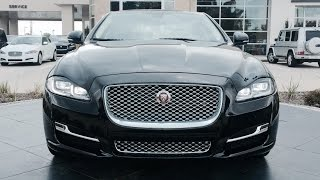 getlinkyoutube.com-2016 Jaguar XJL Portfolio Supercharged Full Review /Start Up /Exhaust