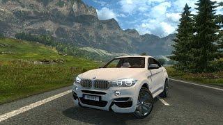 getlinkyoutube.com-ETS2 - BMW X6 M50d 2015 - Logitech G27