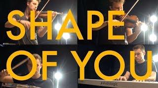 getlinkyoutube.com-Ed Sheeran - Shape of You (violin brother cover)