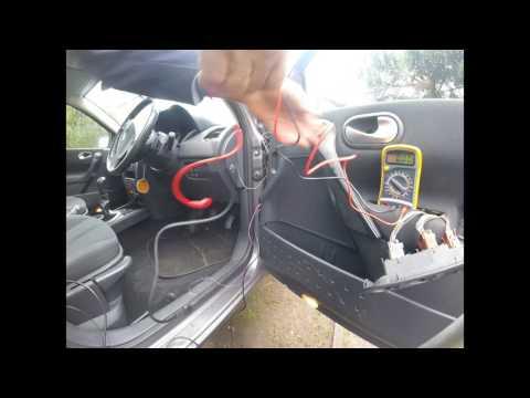 5 шаг Почему не работал стеклоподъемник Renault Megane 6 часть