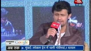 getlinkyoutube.com-Agenda Aaj Tak: Sonu Nigam - Part 2