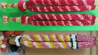 getlinkyoutube.com-how to make garland with rose petals 9884436365