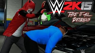 getlinkyoutube.com-WWE 2K15 - CaRtOoNz vs H2O Delirious (Table Match w/ Bonus Backstage Brawl!)
