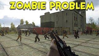 getlinkyoutube.com-ZOMBIE PROBLEM! - Arma 3 DayZ