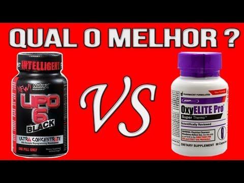 OXYELITE vs LIPO6 BLACK UC - QUEIMADORES DE GORDURA