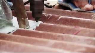getlinkyoutube.com-Membuat Lampu Botol Air Mineral Tenaga Sinar Matahari