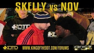 KOTD &#8211; Rap Battle &#8211; Skelly vs Nov
